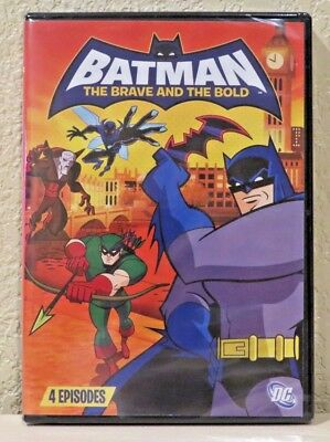 Batman: The Brave and the Bold, Vol. 2 (DVD, 2009) BRAND NEW>FREE SHIPPING!