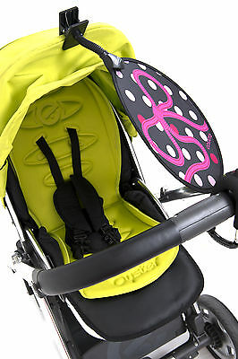 My Buggy Buddy Pink Bow How Sun Shade, Parasol universal Car and Buggy UPF50+