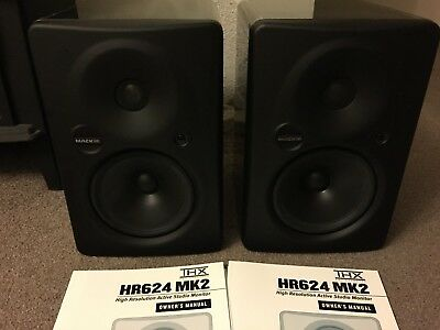 Mackie HR624 MK2 Studio Monitors/Speakers (Pair) $2500 Retail.