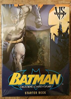 Batman Trading Card Game Starter Deck by Upper Deck Vintage 2005 DC VS. System