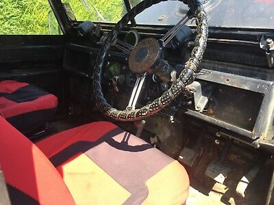 1965 Land Rover series 2 2a fitted with many extras inc Perkins engine new parts