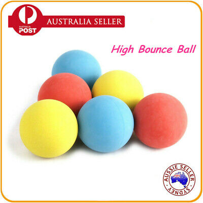 6/12/24/36/48PCS High Bounce Hand Ball Mix Colors Square Ball Play Toy Kid Party