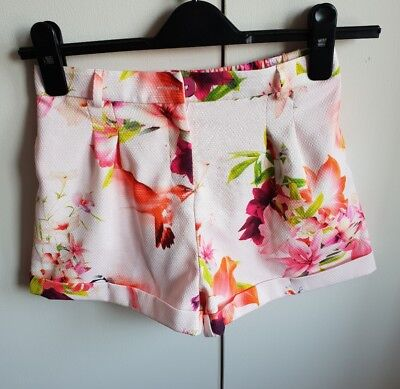 Girls TED BAKER Shorts Age 8-9 (NWT)