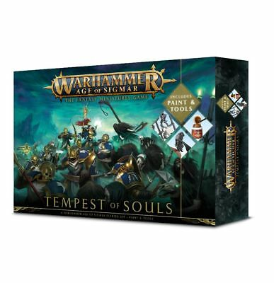 Warhammer Age of Sigmar Tempest of Souls Paint Set (Deutsch) Games Workshop AoS