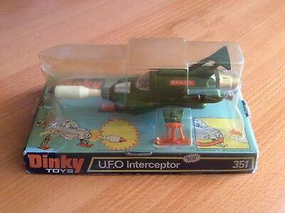 Ufo Shado Interceptor Dinky Toys 351 Bubble Box. Good and working conditions