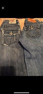 👖👖👖Authentic True Religion Blue Boys Size 7 Jeans  👖👖👖