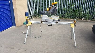 DW708LX 110volt chop saw with stand