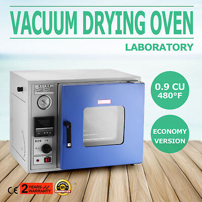0.9 Cu Ft 480°F Lab Vacuum Air Convection Drying Oven multi usage