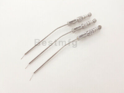 SUCTION TUBES 2.5MM FRAZIER ASPIRATORS ITEM#(6715) SURGICAL INSTRUMENTS 3Pcs Set