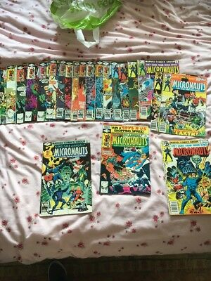 The Micronauts Comics #1-20 + 2 King Size #1, 2