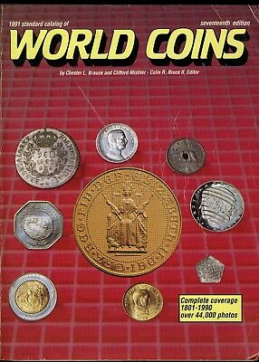 Coins of the World Lot of 5 Different World Coin Catalogs