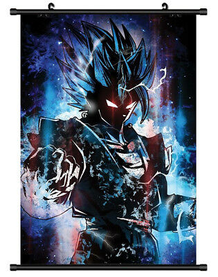 B5703 Vegito Dragon ball anime manga Wall scroll Stoffposter 25x35cm