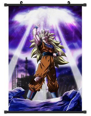 B5704 Son Goku DRAGON BALL anime manga Wall scroll Stoffposter 25x35cm