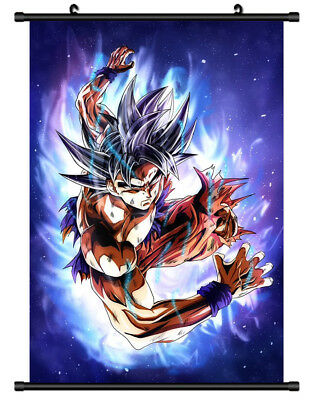 B5705 Son Goku DRAGON BALL anime manga Wall scroll Stoffposter 25x35cm