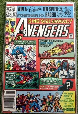 Avengers Annual #10 1981 First Appearance of Rogue Marvel Key KEY ISSUE