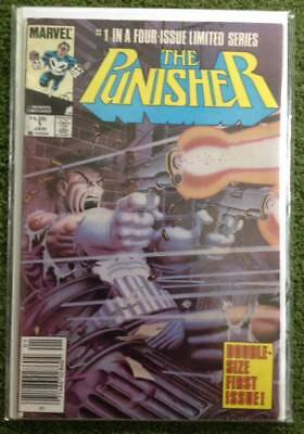 The Punisher #1 VF- Marvel Comics 1986 Limited Series