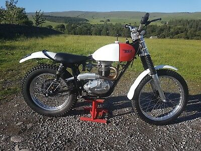 BSA C15 320cc Pre 65 trials bike - road registered - very high spec