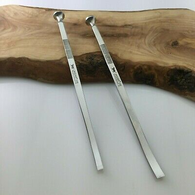 Set of 2 Cottle Chisels Curved 4mm/6mm Germany Stainless competitor price £158