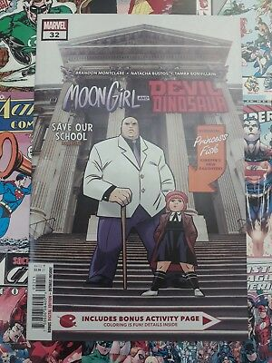 Moon girl and devil dinosaur #32 1st app of Princess fisk New bagged and boarded