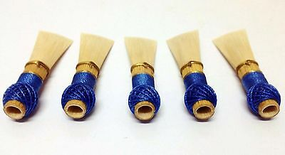 5 Fagottrohre (Fasson 2a) /  Top Bassoon reeds DANZI CANE - Ready To Play!