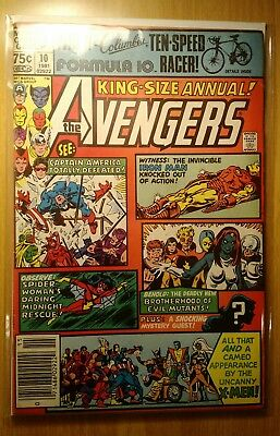 The Avengers Annual #10 (1981, Marvel) FIRST APPEARANCE ROGUE GREAT SHAPE! 8.0+