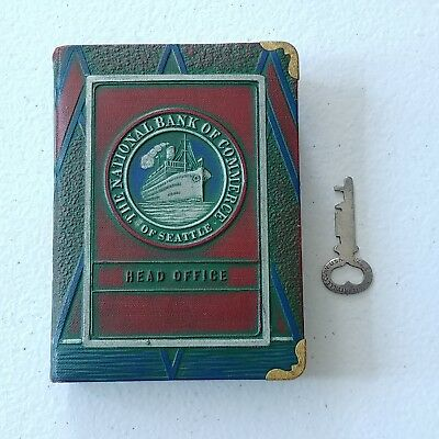 #1400 - Book Bank  SEATTLE Head Office   National Bank of Commerce - FREE S&H