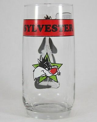"1966 Arby's Warner Bros Collector Series Glass Sylvester ""Sufferin' Succotash!"""
