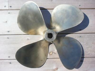 "4 Blade Propeller 17 LH 23 Hy Torq NI-BRAL Canada 1 3/8"" Tapered Bore"