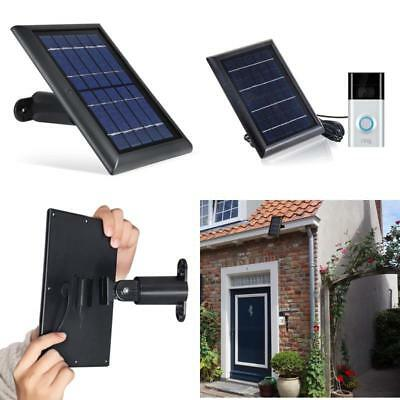 Solar Panel for Ring Video Doorbell 2 Power Continuously With Our Solar Charger