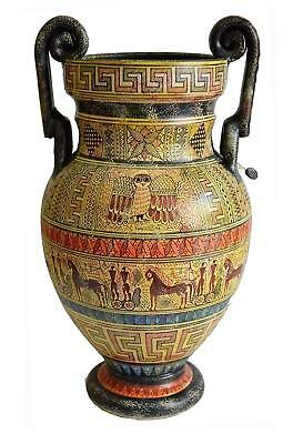 Geometric Period Volute Krater Vase - Ancient Greece - Museum Replica of 700 BC