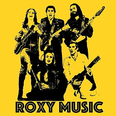 Roxy Music T Shirt For Your Pleasure Bryan Ferry Brian Eno Remake Remodel
