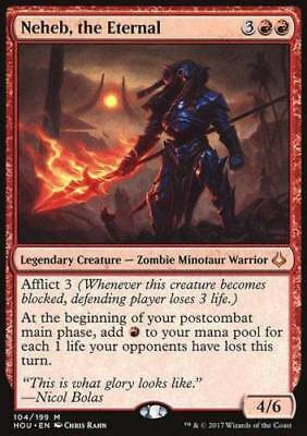 1x NEHEB, THE ETERNAL - Hour of Devastation - MTG - NM - Magic the Gathering