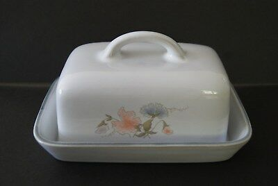 Denby Encore Butter Dish (Sweet Pea Design)