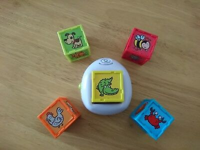 ELC Puzzle Cubes learn the name and noises of 30 animals