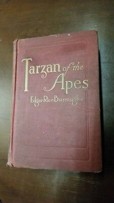 Tarzan of the Apes First Edition
