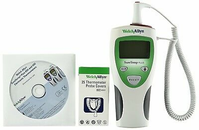 Welch Allyn Suretemp Plus 690 Thermometer with 25 Temperature Probe covers NEW