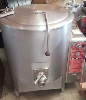 Vulcan GL40E  Jacketed Kettle, 40-Gallon 30 Day Warranty Free Shipping