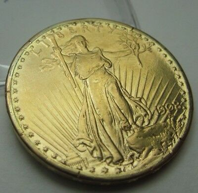 1908 $20 St. Gaudens Double Eagle Gold Coin     110