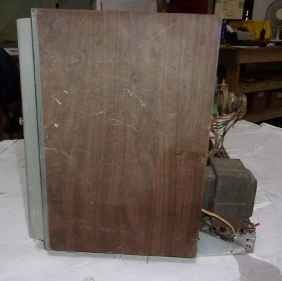 General Electric Vintage Color CRT TV MISSING BACK PANEL/POWER CABLE/UNTESTED
