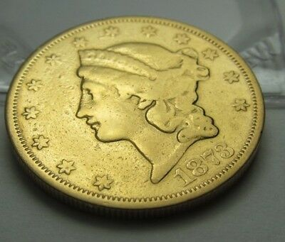 1873-S  $20 Type II  Liberty DOUBLE EAGLE GOLD COIN     114
