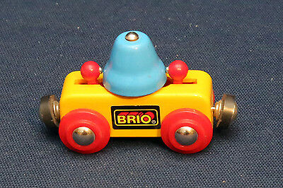 Brio 33227 Glocken Waggon Wagen - wie neu - rar - TOP - Chiming-Bell Wagon VHTF