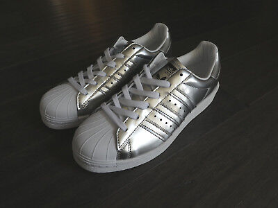 Adidas Superstar Slip on Shell toes Shoes Sneakers New Size 10 Women's CQ2382 Bl