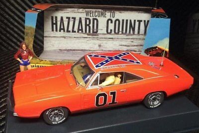 Pioneer P016 - Dodge Charger The General Grant - suits Scalextric track
