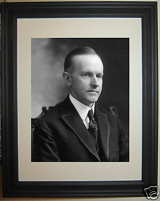 President Calvin Coolidge USA 30th President Framed Photo Picture Photograph