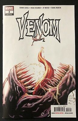 Venom #3 1st Appearance Of Knull Symbiote King Villain Marvel 2018 Cates Stegman