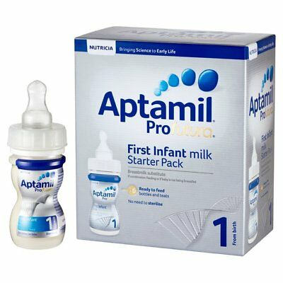 Aptamil Profutura 1 First Milk Ready to Feed Starter Pack