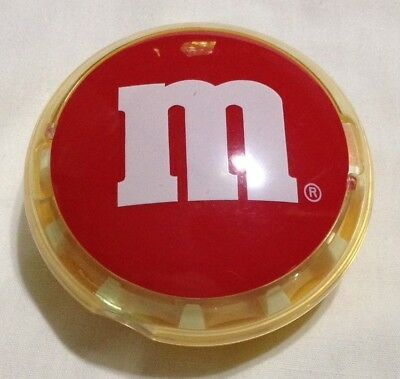 M&M's Red Round Battery Operated Candy Belt Dispenser - Mars/Cap Toys