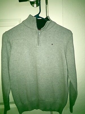 Tommy Hilfiger Youth Large Quarter-Zip Pullover