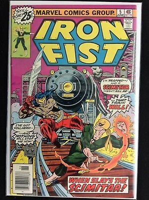 IRON FIST #5 Lot of 1 Marvel Comic Book!