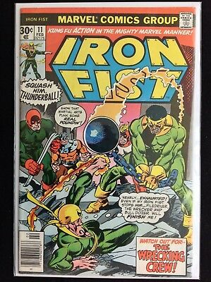 IRON FIST #11 Lot of 1 Marvel Comic Book!